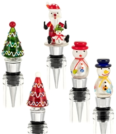 christmas bottle stopper