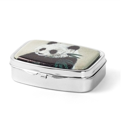 Panda Bear Pill Box