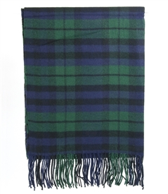 Plaid Pattern Pashmina Scarf