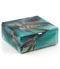 Sea Turtle Keepsake Box