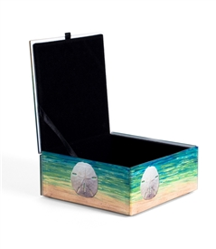 Sand Dollar Keepsake Box