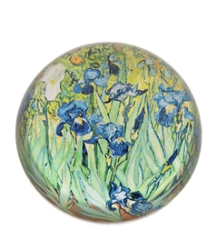 Irises by Vincent van Gogh Paper Weight