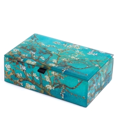 Van Gogh's  Almond Blossoms Treasure Box