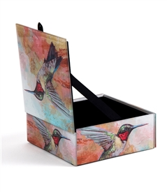 Humming Bird Keepsake Box
