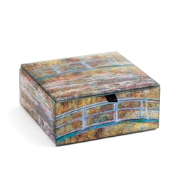 The Water Lily Pond /Claude Monet Keepsake Box