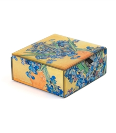 Irises / Van Gogh Keepsake Box