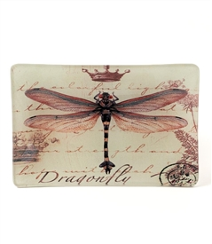 Dragonfly Decorative Dish