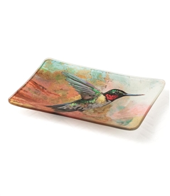 Hummingbird Decorative Dish