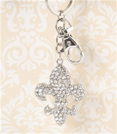 Fleur De Lis Key Chain/Purse Jewelry