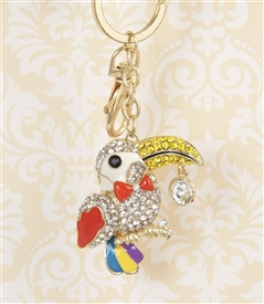 Toucan Purse Jewelry/Key Chain
