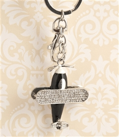 Airplane Key Chain/Purse Jewelry