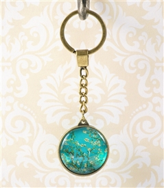 Van Gogh's Almond Blossoms Key Chain