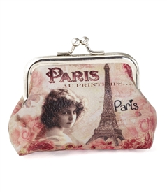 Paris Eiffel Coin Purse