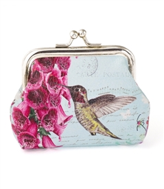 Hummingbird Change Purse