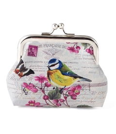 Yellow Bird Change Purse