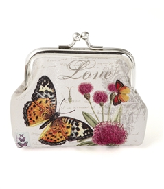 Butterfly Change Purse