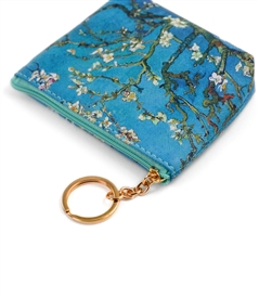 Van Gogh's Almond Blossoms Keyring Coin Purse