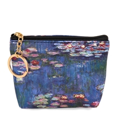 Monet Water Lilies Change Purse