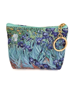 Van Gogh's Irises Change Purse