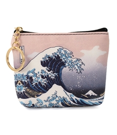 Great Wave Keyring Purse