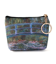 Japanese Bridge Keyring Coin Purse