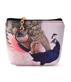 Peacock Keyring Coin Purse