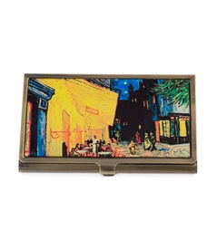 Cafe Terrace At Night  Card Case