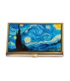 Van Gogh's Starry Night Vantage Card Case