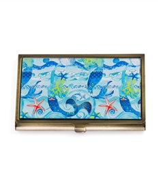 Mermaid Vintage Card Case