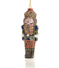 Cloisonne Nutcracker Ornament