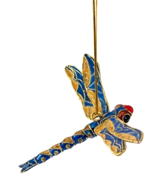 Cloisonne Dragonfly Ornament