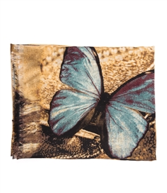 Large Butterfly Shawl