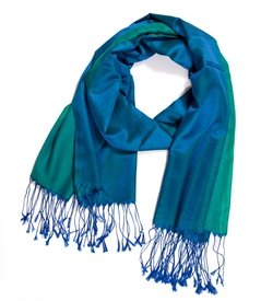 Two Tone Color Scarf