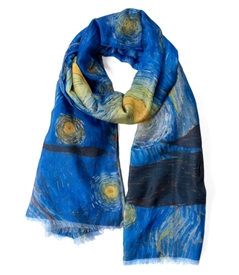Starry Night by Vincent van Gogh Scarf