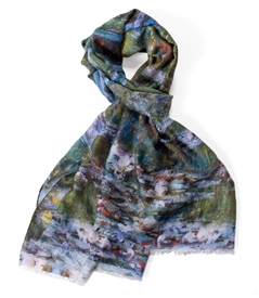 Water Lilies and Japanese Bridge/Claude Monet Scarf