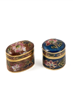 Cloisonne Tooth Fair Box (Set of 8 Pieces)