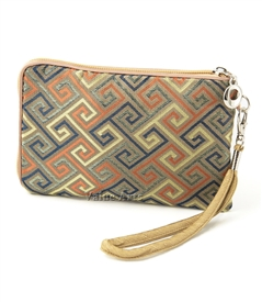 Endless Fortune Silk Wristlet