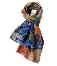 Tree Roots /Vincent van Gogh Scarf